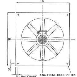 Plate Mounted Axial